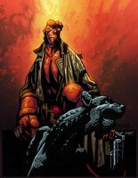 Hellboy-Mignola-Colored by SplashColors