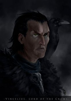 Vincelius, lord of the crows by gravedivision