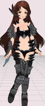 MMD- Demon Armor -DOWNLOAD by MMDFakewings18