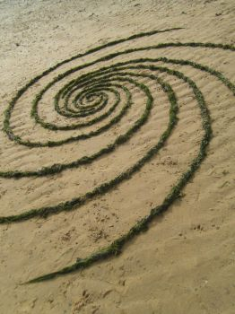 Margate, Seaweed Spiral by Dishtwiner
