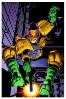Judge Dredd by D.Williams and G. Martin by DrDoom1081