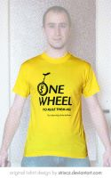 One Wheel to Rule Them All T-Shirt by StrixCZ