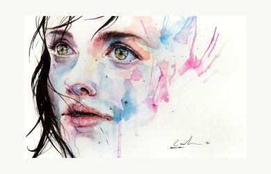 just one in a thousand by agnes-cecile