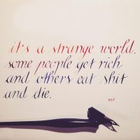 It's a strange world... by pica-ae
