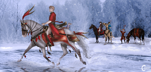 ZWG - SKEGGAS-ON-ICE / Shah by FeatherCandy