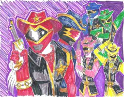 Westernranger or Power Rangers West Star by LavenderRanger