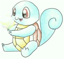 Squirtle's Bubble by nin10do-gamer