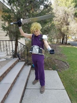 Cloud cosplay (2018 revision) 1 by Shinto-Cetra