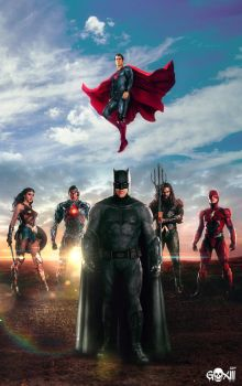 Justice League by GOXIII