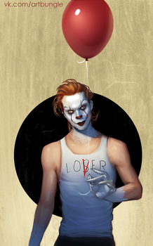 Bill Pennywise by ABungle