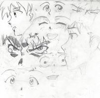 Shinji faces by Javiyoshi