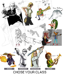 Drawpile for August by Nayolfa