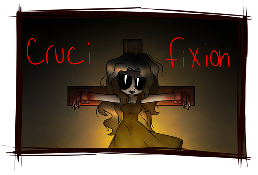 .:Jane The Killer:. Crucifixion by Morgafur