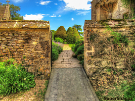 Great Charfield House And Gardens 5- Stock by supersnappz16