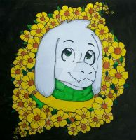 Asriel Dreemurr by Call-me-Crazy216