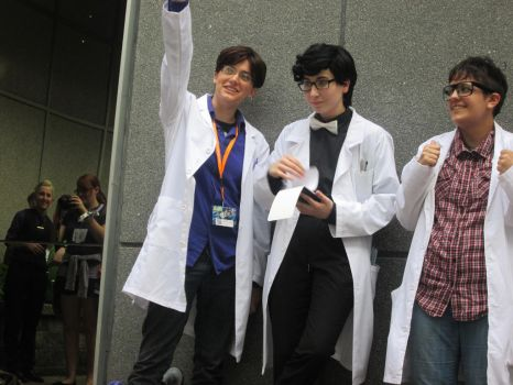 Acen 2015 Welcome to Night Vale Photoshoot by Rookiek13