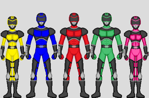 Power Rangers Strike Force 2 by xx-drage-xx