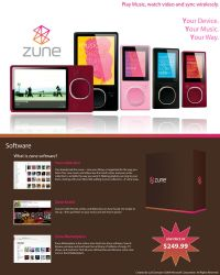 Zune Ad by BTNH108464