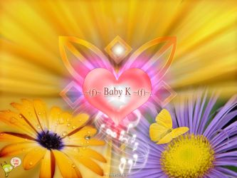 Baby K Wallpaper no1 2k3 v-2 by thinsoldier