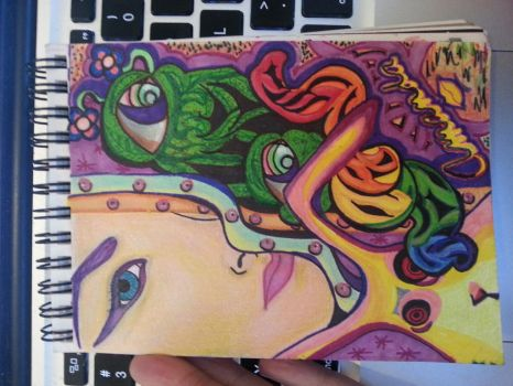 Scrapish Sketch Book 1 by smokerette