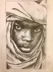 Pencil Drawing #1 by magickid1234