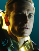 Michael Fassbender, Prometheus by AndrewParsons