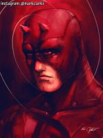 daredevil by Mark-Clark-II