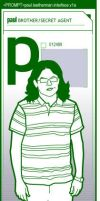 P is for Paul by garald4
