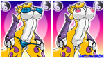 Renamon the Supermodel by theHyenasSBE