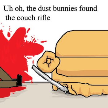 Couch Rifle by damnitsasha