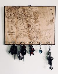 Middle Earth Map - modified by Envorenn