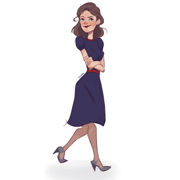 Agent Peggy Carter. by usshak