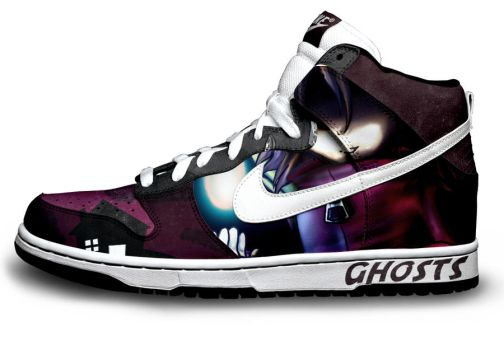 NIKE Shoe Ghosts by afaikars