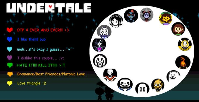 Undertale Shipping Meme by TheMangaGirl1