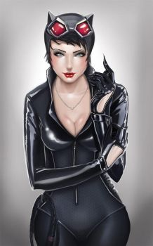 Catwoman by Junk-Ren