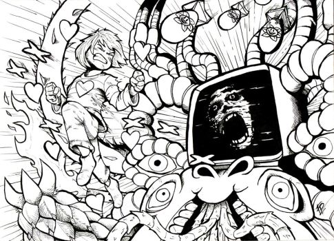 YOU CANT BEAT GOD!!/ INK Undertale by Edgar-Games