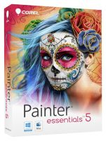 Painter Essentials 5 Box cover artwork by LawrenceMann