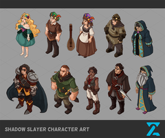 Shadow Slayer Character Art by CPatten