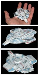 USS Defiant model by ThunderChildFTC