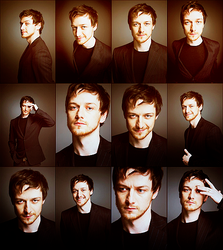 Faces - McAvoy by FirstTimeLady
