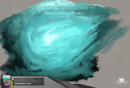MA-Brushes Realistic Photoshop Brushes Promo 07 by MichaelAdamidisArt