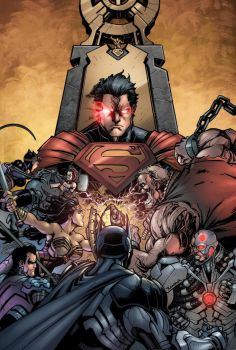Injustice Gods Among Us #1  Colors by Raapack