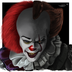 Pennywise the dancing clown by FnkMstr74