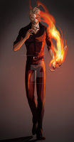 [FFXV] Firestorm by LuzifersChoice