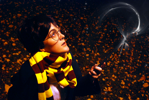 Harry Potter - Lumos by aggestardust