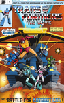 Transformers the Moive coimc cover. by thedream86