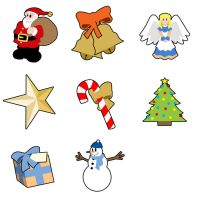 Christmas Memory Game by Saberhagen