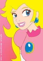 Peach Quick Tablet Drawing by Aphius