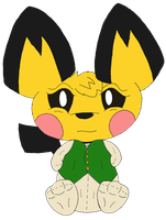 Henry the Pichu by Unownace