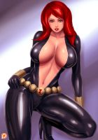 Black Widow by svoidist